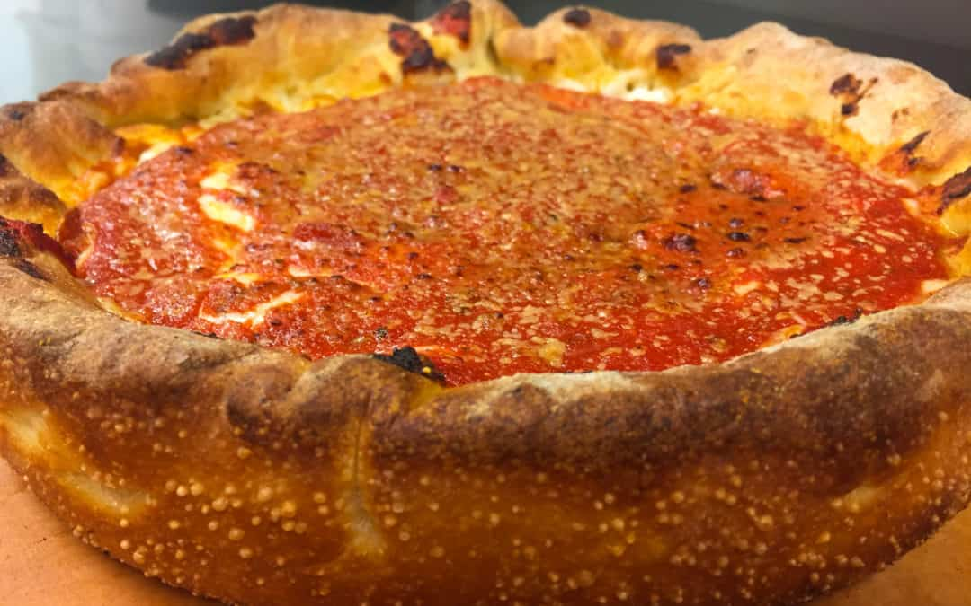 The History & Adaptation of the Chicago Pizza Pie