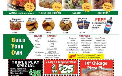 New Specials For a New Year!