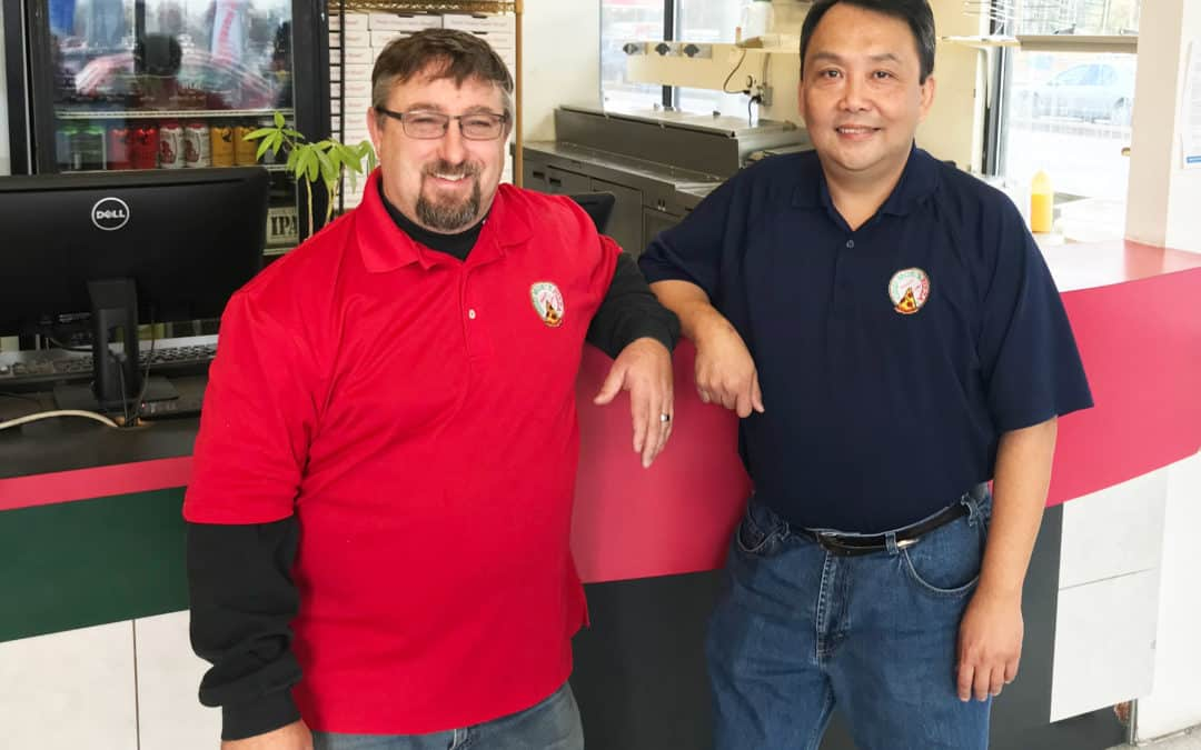 Owners Of Odd Moe's Pizza